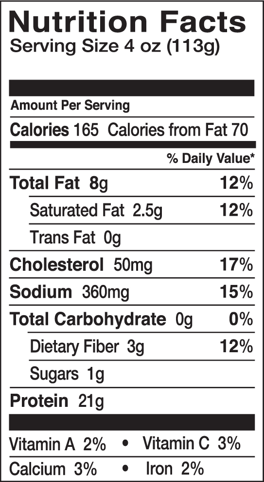 Swai fish nutrition facts nutrition ftempo for Calories in tuna fish